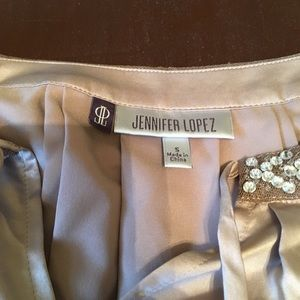 Jennifer Lopez silky shirt small